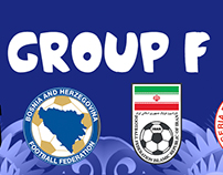 Brazil 2014 fantasy kits group F