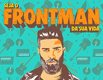 """Seja o Frontman da sua vida"", AXE Brasil."