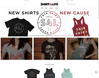 Shirt4Life Ecommerce & Branding Design