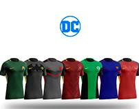 Nike jerseys inspired by DC Heroes
