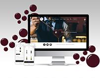 """The Golden Grape"" wine house website&app design"