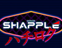 Shapple Garage Logo