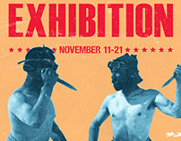 Annual Undergraduate Art Exhibition Flyer