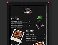 Pizza Menu Template Bundle