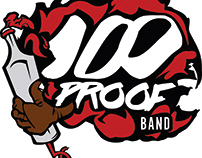 100 Proof Band Logo