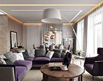 Apartment Interior Rendering For A Comfortable Design