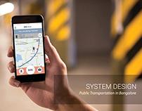 Public Transportation in Bangalore (System Design)