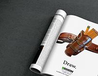 Dixon Mock-Magazine Ad