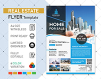 Real Estate Flyer Poster