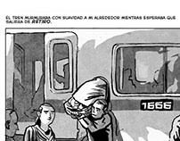 La caja. Dibujos de Marina Muñoz