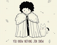 Handmade Doodles 2 (Game of Thrones)