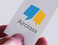 Airclass Logo设计