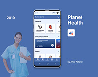Planet Health - mobile app (version for Android)