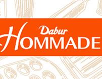 Dabur hommade A+ infographics