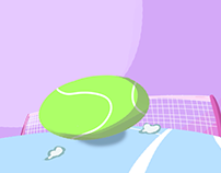 Looping Tennis Ball