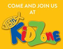 KidZone (Sunday School) Outdoor Banner