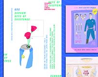 flyers // ilustración digital/ acuarela