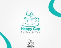 happy cup Coffee & Tea logo