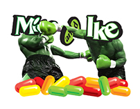 Mike and Ike   T-Shirt Design Contest Entry