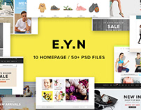 E.Y.N - Creative Multiuse WordPress Theme