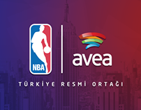 Avea NBA ALL-STAR Web Design & Mobile Site