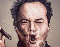 Ilustração Digital Jack Nicholson