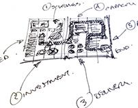 Sketchbook graphic concepts
