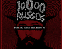 10.000 RUSSOS | poster