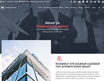 About Company Section - Employment WordPress Theme