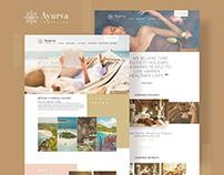 Wellness Travel Website