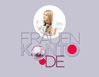 Branding and Webdesign Frauenkonto