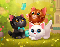 Happy Kitties mobile game