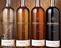 Charboneau Distillery Rum Logo & Packaging Design