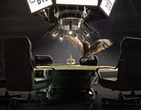 VTB CG Owl commercial