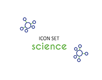 Icon set - Science