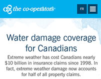 The Co-operators Water Damage Coverage Website