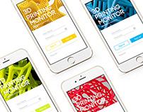 PrintStat- Mobile App Design