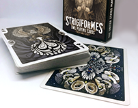 Strigiformes: Owl Playing Cards