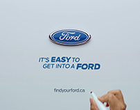 Ford Whiteboard VFX Montage