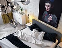 REBUS bedroom
