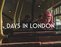days in london // dni w londynie