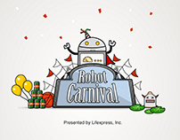 Robo Carnival iOS game design