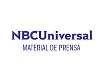 NBCU - Material de prensa