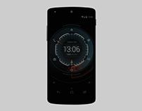Futuristic Android concept