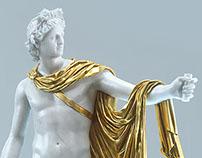 Apollo Belveder 3D scanned model (Octane Render)