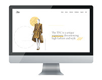 Texas Fashion Collection Website Redesign
