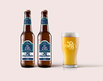"""""""Parisian Street Craft Brewery"""" Beer Logo and Label"""