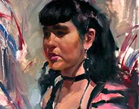 Recent Alla Prima Portraits