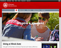 Illinois State University Giving Website