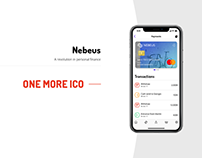 Design for Nebeus: one more ICO project